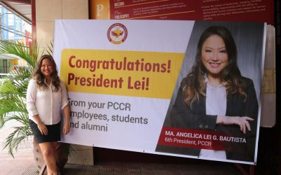 Ms. Lei Bautista named PCCR's Sixth President